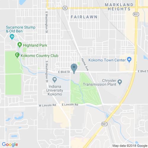 Location Of University Park At Kokomo